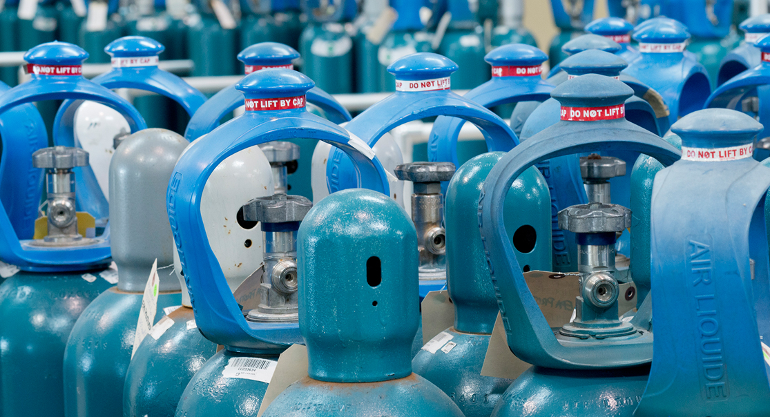 Volume Of Compressed Gas In A Cylinder Air Liquide Usa