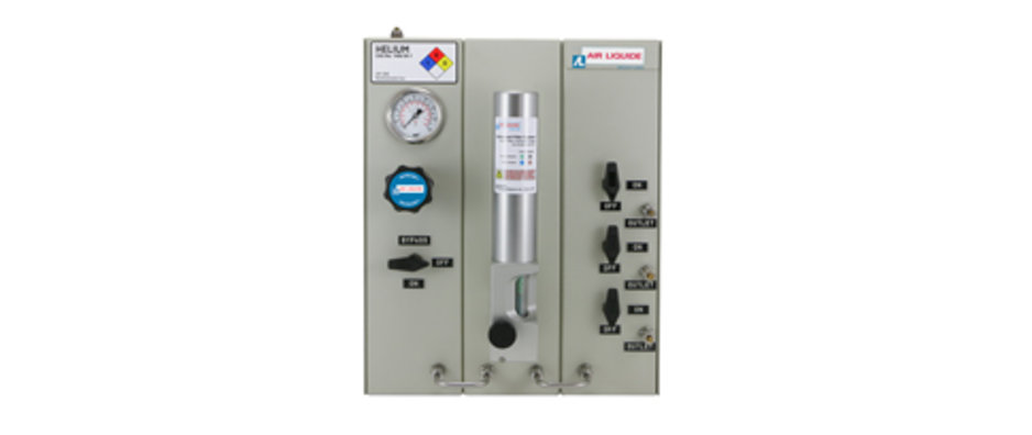 Model 7MGPA modular gas distribution panels for specialty gases from Air Liquide