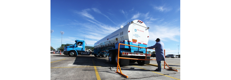 Do you ever have trouble parallel parking a 4-wheeler? Try backing a gas trailer into a tight space. As part of the field test, which accounted for 60 percent of the total score, each participant had one shot to parallel park an argon trailer.