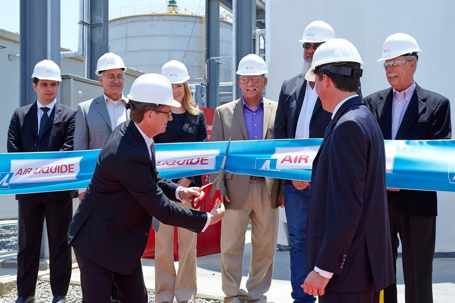 Air Liquide commissions new carbon dioxide plant in Pixley, California