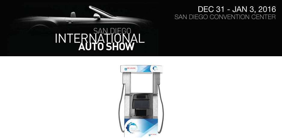 San Diego International Auto Show Air Liquide USA - San diego convention center car show